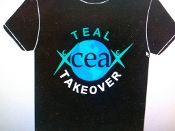 T Shirt - Teal Takeover