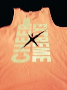 Cheer Extreme Tank - Neon Pink
