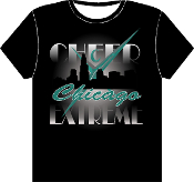 T Shirt - Chicago Skyline