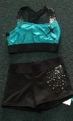 2 Piece Sequin Practice Wear